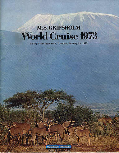 Gripsholm World Cruise