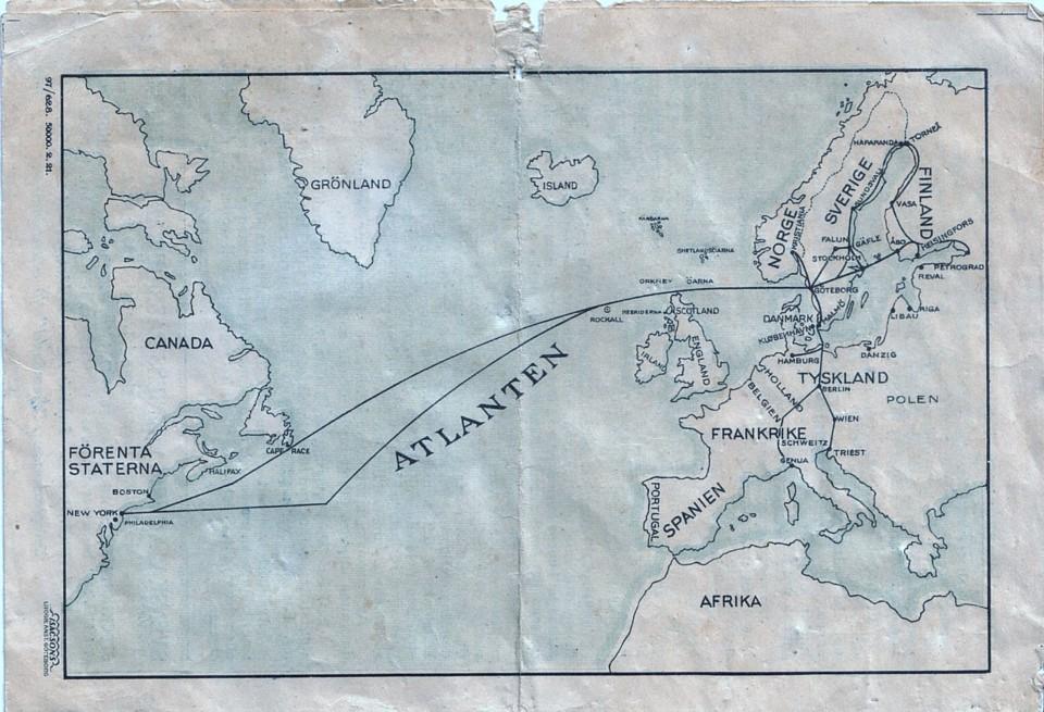 Sal Timetable 1922